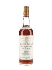 Macallan 1979 18 Year Old Bottled 1997 75cl / 43%