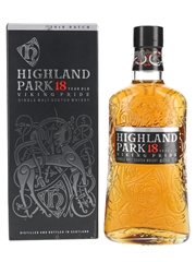 Highland Park 18 Year Old Viking Pride 2018 Batch 70cl / 43%