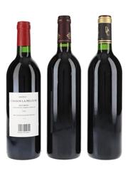 Assorted Bordeaux Wines Tanesse 1990, Cambon La Pelouse 1989 & 2000 3 x 75cl