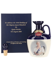 Rutherford's 100 Single Malts Ceramic Decanter Queen Mother 100th Birthday 70cl / 40%