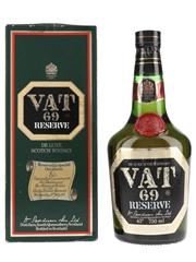 Vat 69 Reserve Bottled 1980s - Royal Marriage 75cl / 40%