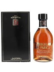 Highland Park 12 Year Old Bottled 1980s - Corb Canarias 75cl / 43%