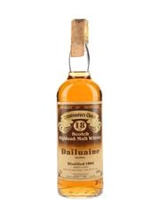 Dailuaine 1963 18 Year Old Gordon & MacPhail - Connoisseurs Choice 75cl / 40%