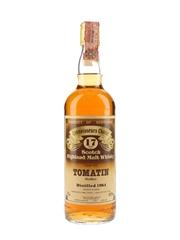 Tomatin 1964 17 Year Old Gordon & MacPhail - Connoisseurs Choice 75cl / 40%