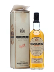 Knockando 1977 Bottled 1990 75cl