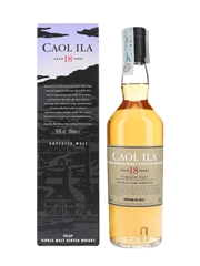 Caol Ila 18 Year Old Unpeated Style Special Releases 2017 70cl / 59.8%
