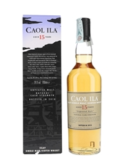 Caol Ila 15 Year Old Unpeated Style Special Releases 2018 70cl / 59.1%