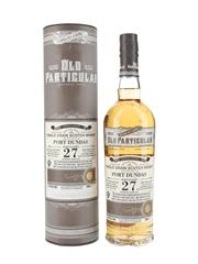 Port Dundas 1988 27 Year Old Bottled 2016 - Douglas Laing Old Particular 70cl / 51.5%