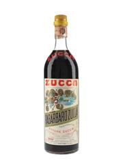 Zucca Elixir Rabarbaro Bitters Bottled 1970s 98cl / 16%