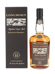 Longmorn 15 Year Old Bottled 1990s 70cl / 45%