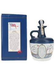 Lamb's Navy Rum Bottled 1980s - Ceramic Decanter 75cl / 40%