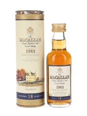 Macallan 1982 18 Year Old