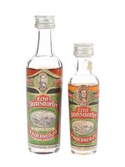 W Koerner Echt Stonsdorfer Bottled 1970s 3cl & 5cl / 32%