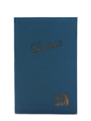 Gordon's Recipes For Cocktails And Other Mixed Drinks Pocket Book
