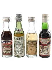 Cinzano, Martini & Sanatogen