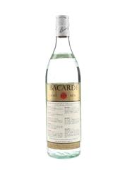 Bacardi Carta Blanca Superior Bottled 1980s - Bahamas & Trinidad 75cl / 37.5%