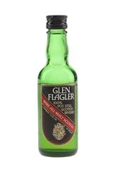 Glen Flagler Rare All Malt Scotch Bottled 1970s 4.7cl / 40%