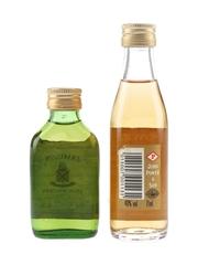 Jameson & John Power & Sons Gold Label Bottled 1980s 5cl & 7.1cl / 40%