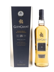 Glen Grant 18 Year Old Rare Edition