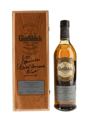 Glenfiddich 1976 Private Vintage Concorde Limited Edition - Signed Box 70cl / 52.5%