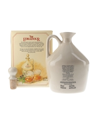 Edradour 10 Year Old Ceramic Decanter Bottled 1980s - Includes Edradour Poster 75cl / 43%