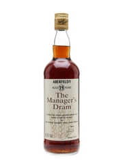 Aberfeldy 19 Year Old Bottled 1991 - The Manager's Dram 75cl / 61.3%