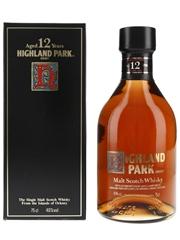 Highland Park 12 Year Old Bottled 1980s 75cl / 40%