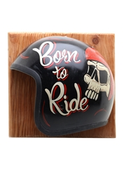 Sailor Jerry Born To Ride Wall Mount