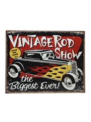 Sailor Jerry Vintage Hot Rod Sign