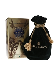 Royal Salute 21 Year Old Bottled 2012 - Green Wade Ceramic Decanter 70cl / 40%