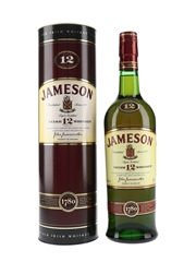 Jameson 12 Year Old  70cl / 40%