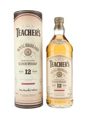 Teacher's Royal Highland 12 Year Old