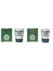 Tullamore D.E.W. Ceramic Sipping Cups Discover A D.E.W. & A Brew