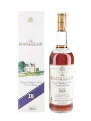 Macallan 1968 18 Year Old