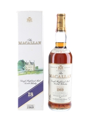 Macallan 1969 18 Year Old Bottled 1988 - Giovinetti 75cl / 43%