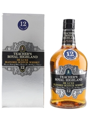 Teacher's 12 Year Old Royal Highland