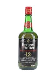 Hedges & Butler 12 Year Old