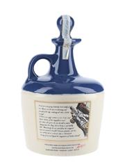 Lamb's Navy Rum HMS Warrior Bottled 1980s - Ceramic Decanter 75cl / 40%