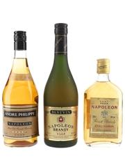 Andre Philippe, Bestvin & Jules Clairon Napoleon VSOP Brandy