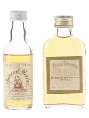 Pheasant Plucker & Royal Deeside Bottled 1970s & 1980s - George Strachan 2 x 5cl / 40%