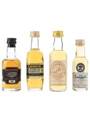 Glenfoyle, Langs, Mr George Baxter's Cellar & Old Smuggler  4 x 3cl - 5cl