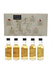 Glen Cairn Regions Of Scotland Malts Collection Tesco 5 x 5cl / 40%