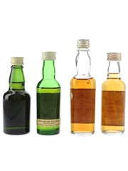 Chequers & Morton's Scotch Whisky Bottled 1960s-1980s 4 x 5cl-7cl / 40%