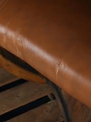 Glenfiddich Barrel Bench Two Seater 136cm x 134cm x 52cm
