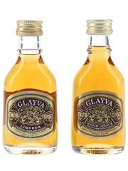 Glayva Liqueur Bottled 1980s 2 x 5cl