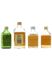 Assorted Blended Scotch Whisky Dewar's, Pinwinnie, White Horse & Whyte Mackays 4 x 5cl / 40%