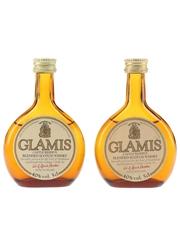 Glamis Castle Reserve Bottled 1980s 2 x 5cl / 40%