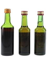 Dubonnet Bottled 1960s-1970s 3 x 5cl