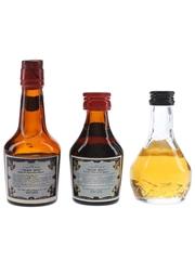 Irish Mist Liqueur Bottled 1960s-1980s 3 x 4.5cl-5cl