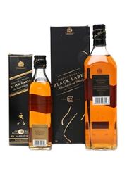 Johnnie Walker Black Label 12 Years Old 35cl & 100cl